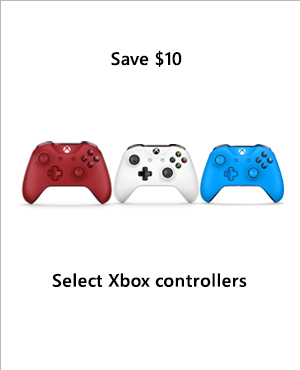 Save $10 on select Xbox controllers.