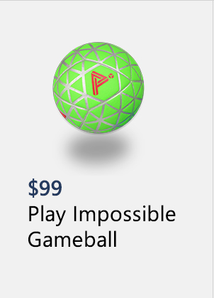 Impossible Play Gameball